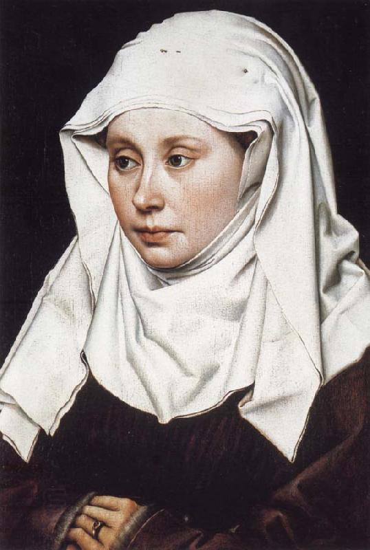 Robert Campin Portrait of a Woman oil painting picture