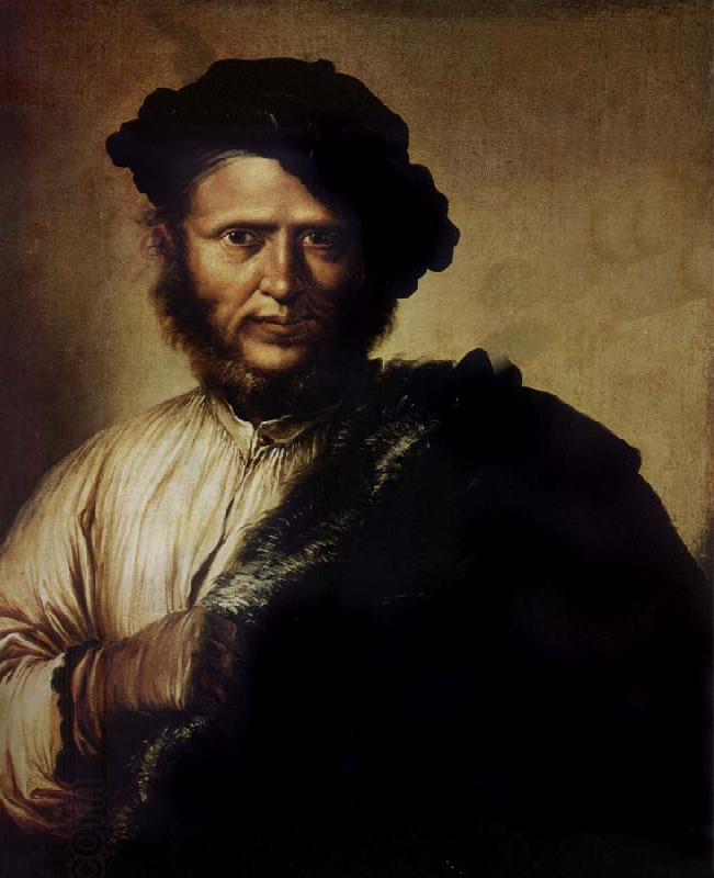 Salvator Rosa Portrait of a man oil painting picture