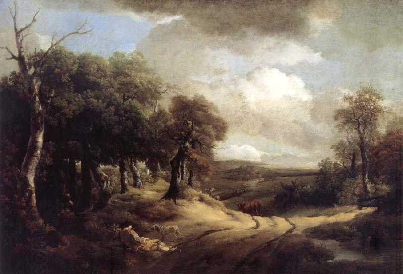 Thomas Gainsborough Rest on the Way