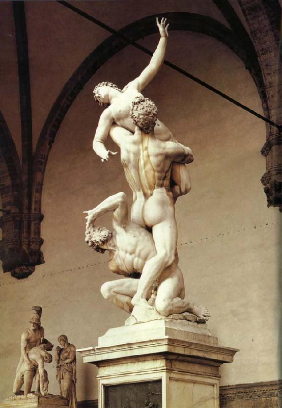 unknow artist The Rape of the Sabine Woman