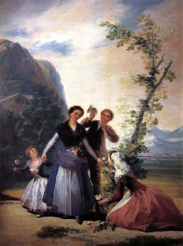 Francisco Goya Spring oil painting picture