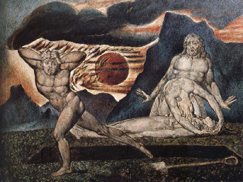 William Blake The Body of Abel Found by Adam and Eve