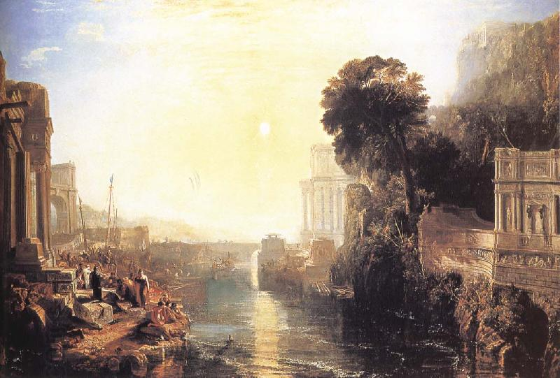 J.M.W. Turner Dido Building Carthage oil painting picture