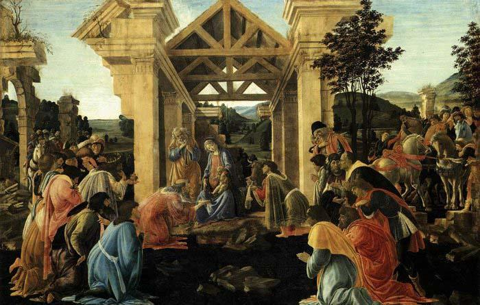 Sandro Botticelli Adoration of the Magi China oil painting art