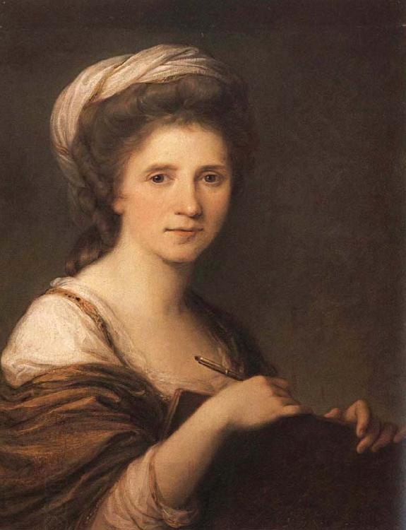 Angelica Kauffmann Self-Portrait oil painting picture