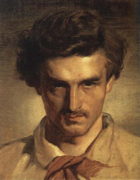 Anselm Feuerbach Self-Portrait China oil painting art