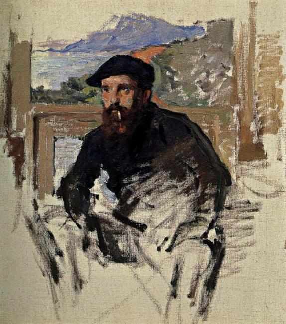 Claude Monet Self-Portrait China oil painting art