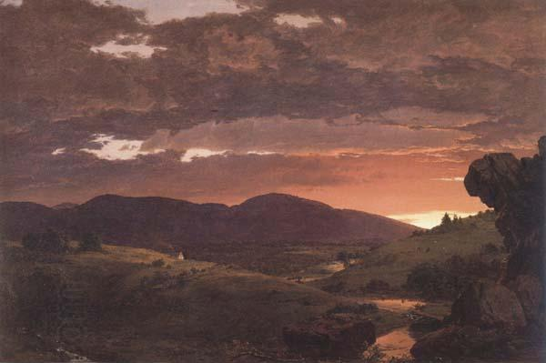 Frederic E.Church Twilight Short Arbiter Twixt Day and Night
