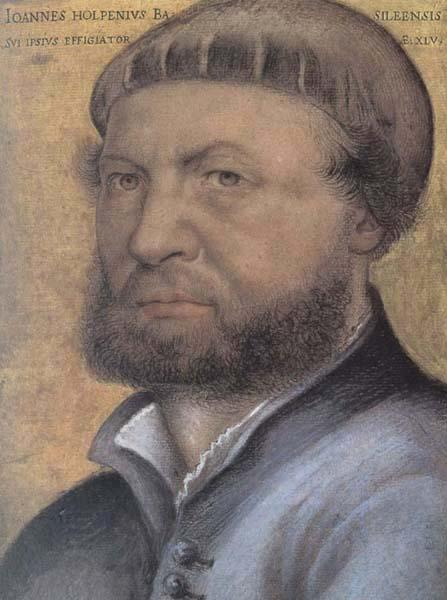 Hans holbein the younger Self-Portrait oil painting picture