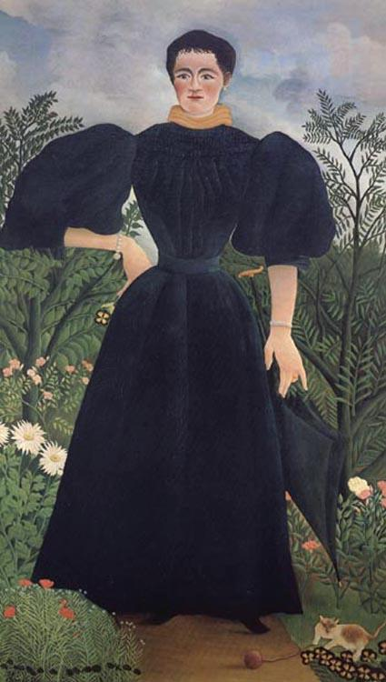Henri Rousseau Portrait of a Woman oil painting picture