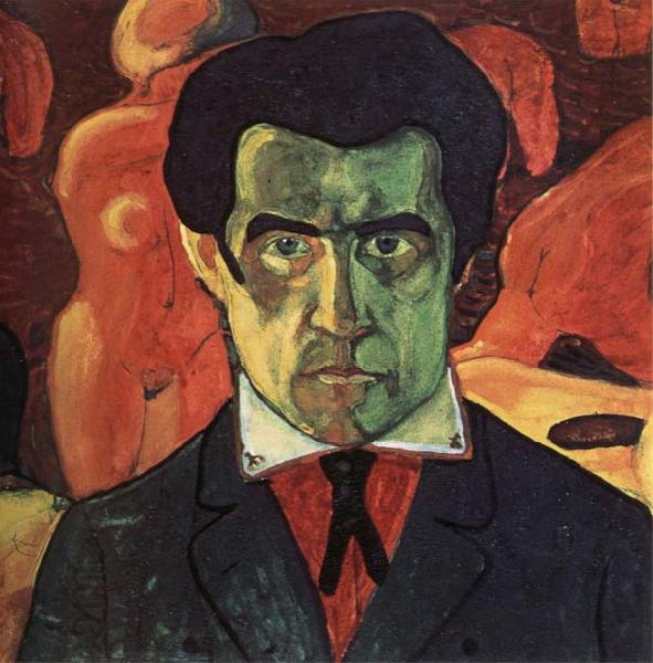 Kazimir Malevich Self-Portrait oil painting picture