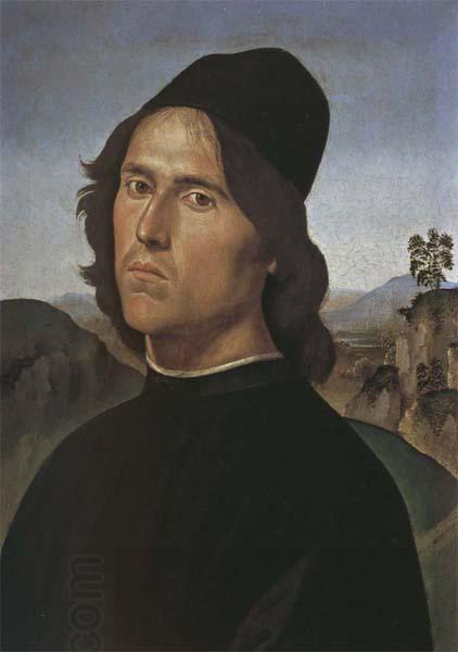LORENZO DI CREDI Self-Portrait China oil painting art