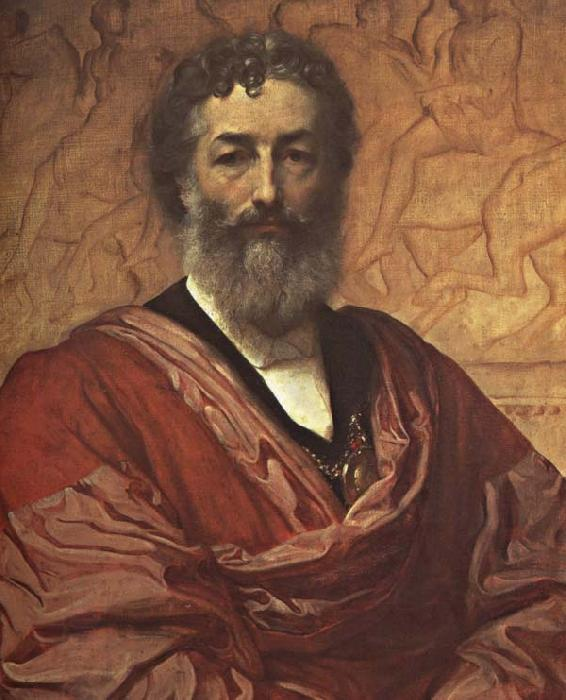 Lord Frederic Leighton Self-Portrait oil painting picture