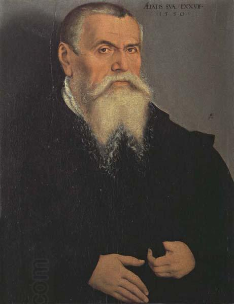 Lucas Cranach the Elder Self-Portrait oil painting picture