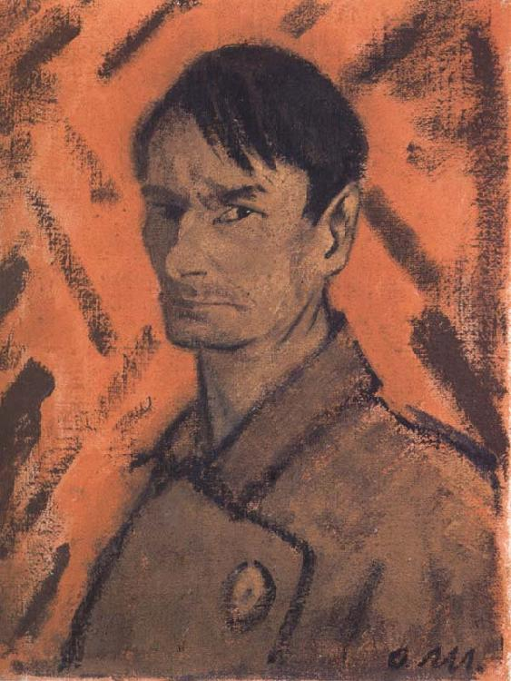 Otto Muller Self-Portrait oil painting picture