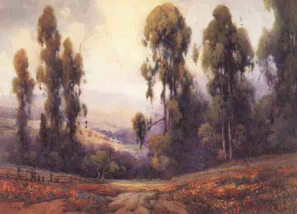 Percy Gray Path to the Blue Mountains China oil painting art