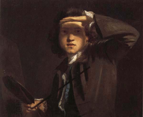 Sir Joshua Reynolds Self-Portrait oil painting picture