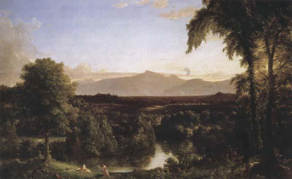 Thomas Cole View on the Catskill-Early Autumn