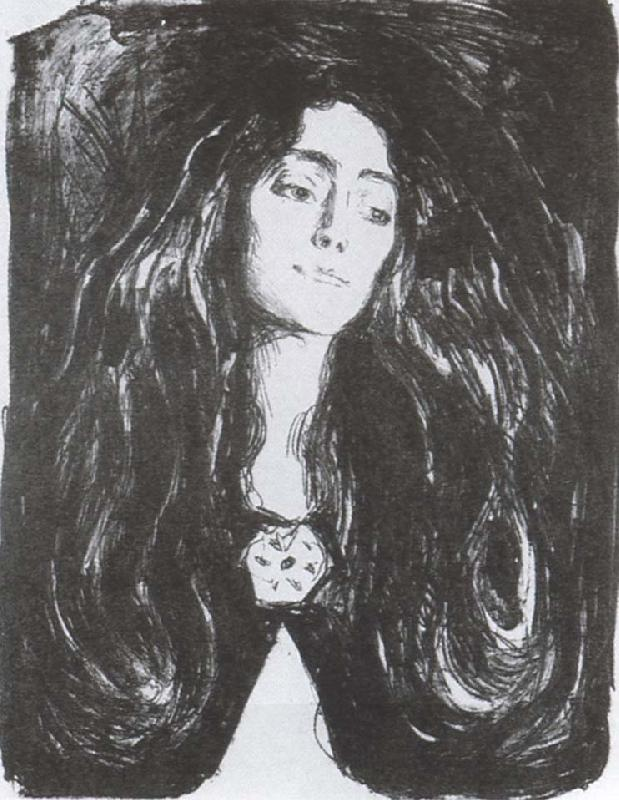 Edvard Munch Madusi oil painting picture