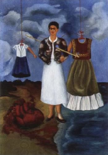 Frida Kahlo memory oil painting picture