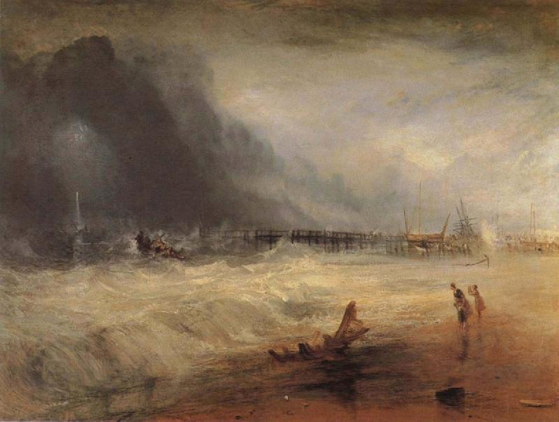 Joseph Mallord William Turner Boat oil painting picture