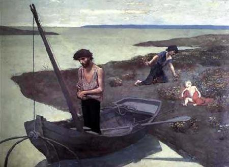 Pierre Puvis de Chavannes The Poor Fisherman