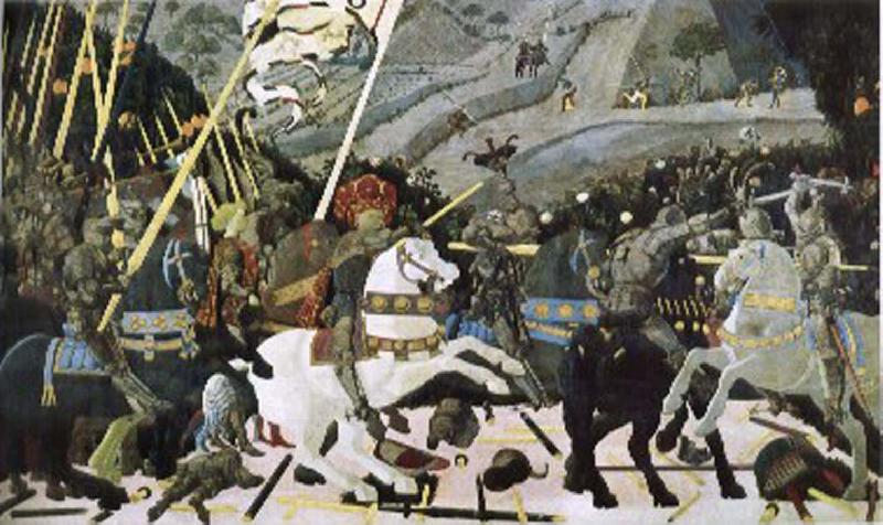 uccello battle of san romano. UCCELLO, Paolo Battle of San