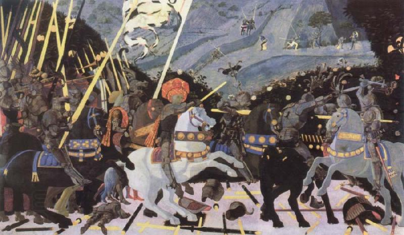 paolo uccello the battle of san romano oil painting picture