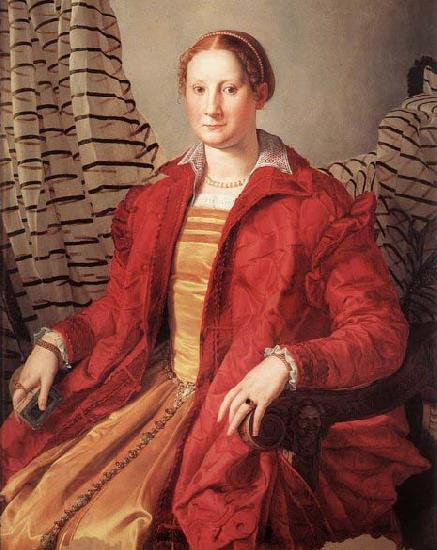 Agnolo Bronzino Portrait of a Lady oil painting picture