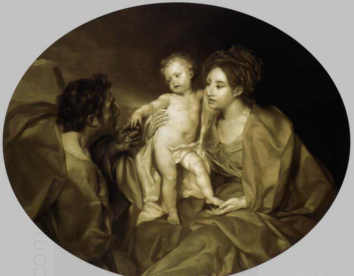 Anton Raphael Mengs The Holy Family oil painting picture