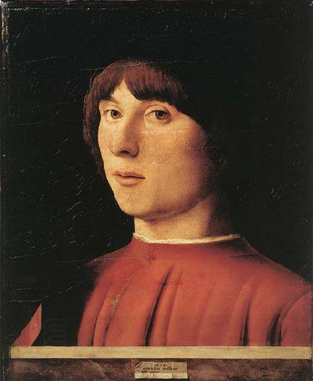 Antonello da Messina Portrait of a Man oil painting picture