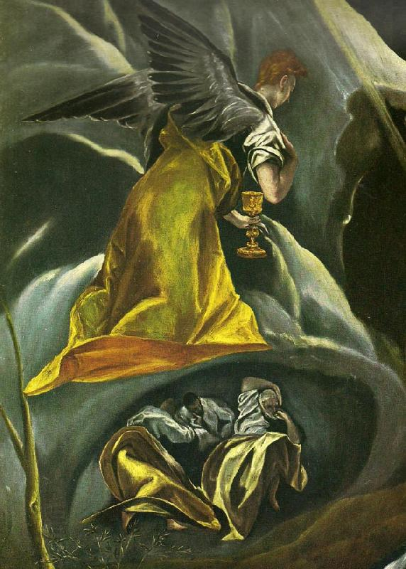 El Greco christ on the mount of olives