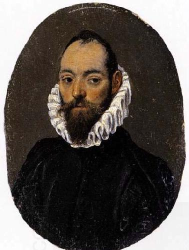 El Greco Portrait of a Man oil painting picture