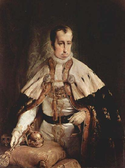 Francesco Hayez Portrait of the Emperor Ferdinand I of Austria