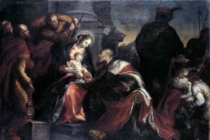 Francisco Camilo Adoration of the Magi oil painting picture