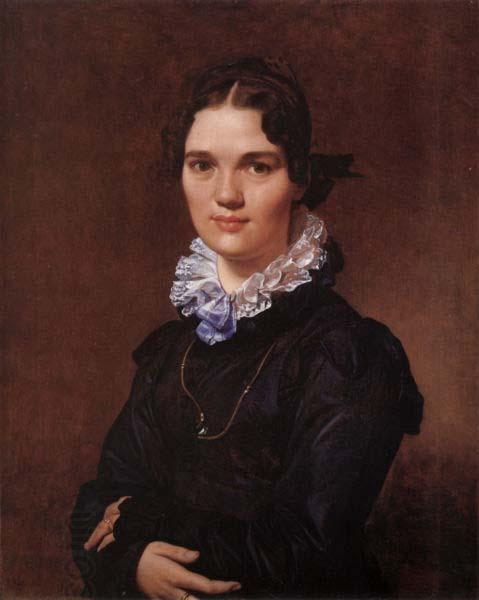 Jean Auguste Dominique Ingres Mademoiselle Jeanne Suzanne Catherine Gonin oil painting picture