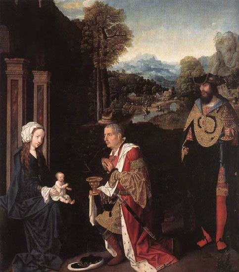 Master of Hoogstraeten Adoration of the Magi oil painting picture
