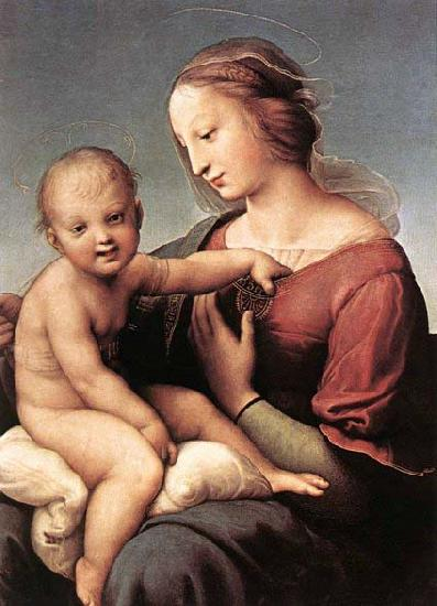 RAFFAELLO Sanzio Madonna and Child oil painting picture