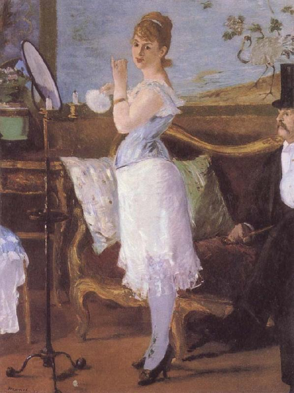 Edouard Manet nana oil painting picture