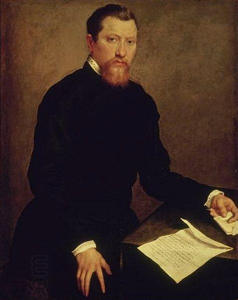 Giovanni Battista Moroni Portrait of a Man China oil painting art