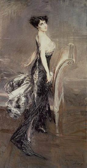 Giovanni Boldini Portrait of a Lady oil painting picture