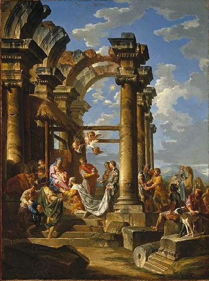 Giovanni Paolo Panini Adoration of the Magi China oil painting art