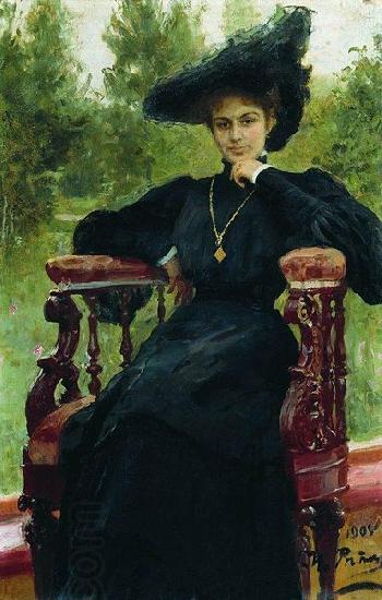 Ilya Yefimovich Repin Andreyeva by Repin oil painting picture