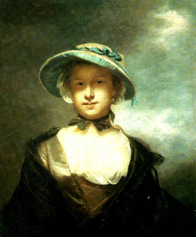 Sir Joshua Reynolds catherine moore oil painting picture