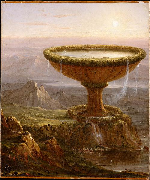 Thomas Cole Der Pokal des Riesen China oil painting art