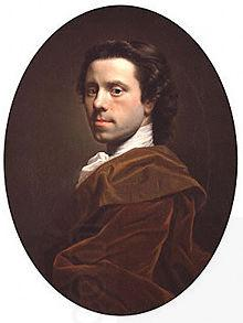 Allan Ramsay Self portrait oil painting picture