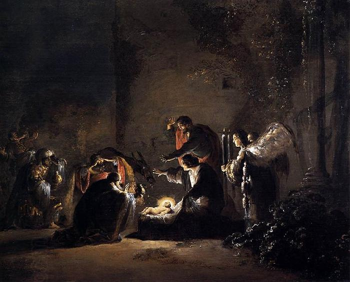 BRAMER, Leonaert Adoration of the Magi oil painting picture