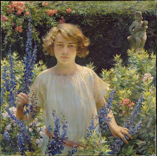 Charles Courtney Curran Betty Newell
