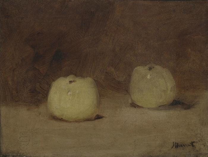 Edouard Manet Still Life with Two Apples oil painting picture