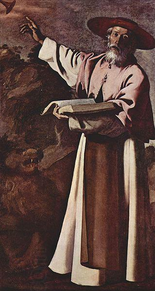 Francisco de Zurbaran Hl. Hieronymus oil painting picture